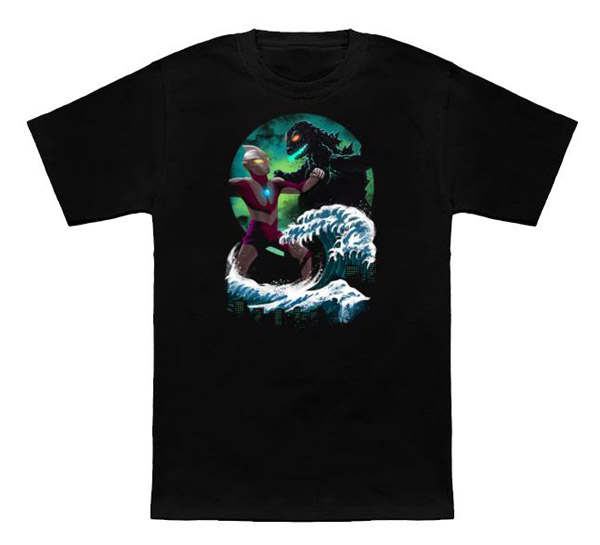 Kaiju Fight in Kaganawa T-Shirt