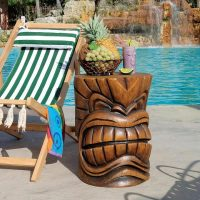 Kanaloa Teeth Grand Tiki Sculptural Table