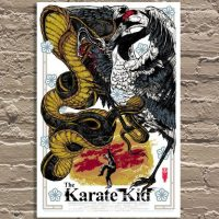 Karate Kid Cobra and Crane Poster