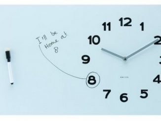 Karlsson Wall Clock Pure White Board