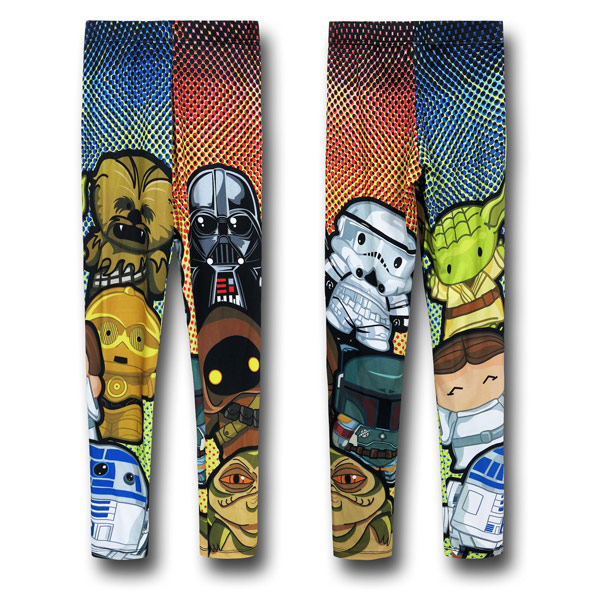 Kawaii Star Wars Womens Leggings