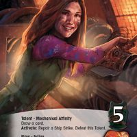 Kaylee Upper Deck Legendary Encounters Firefly Deck Building Game