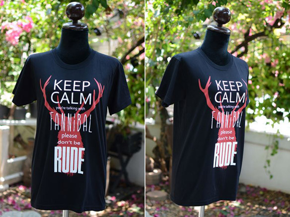 Keep Calm Youre Talking With a Fannibal Shirt