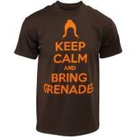 Keep Calm and Bring Grenades T-Shirt
