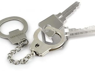 Key Cuffs Bottle Opener Keychain