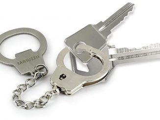 Key Cuffs Bottle Opener Keychain