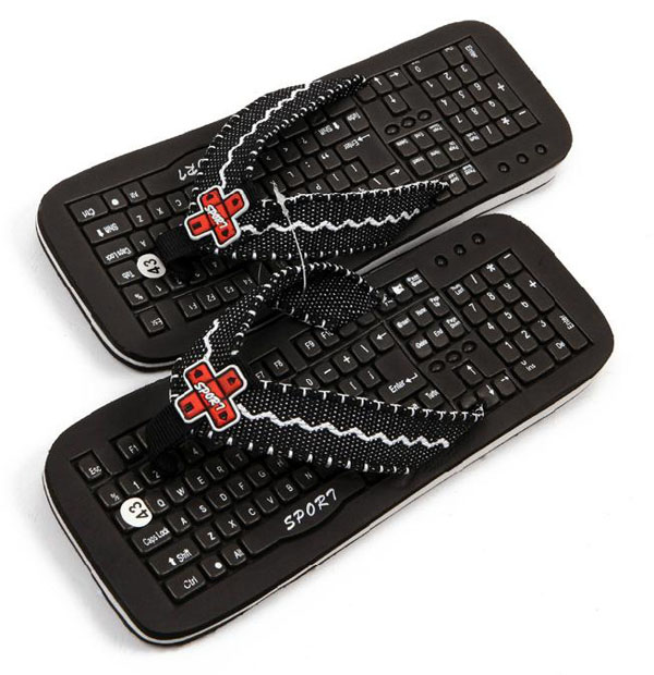 Keyboard Slippers