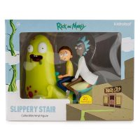 Kidrobot Rick and Morty Slippery Stair Collectible Vinyl Figure