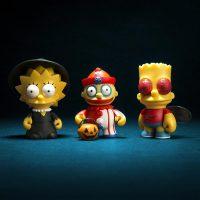 Kidrobot Simpsons Lisa Ralph Bart Treehouse of Horror Mini Figures