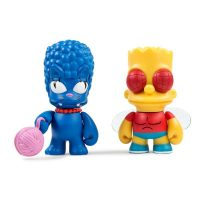 Kidrobot Simpsons Marge Bart Treehouse of Horror Mini Figures