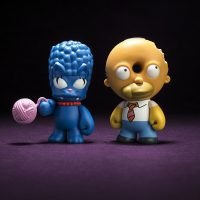 Kidrobot Simpsons Marge Homer Treehouse of Horror Mini Figures
