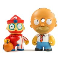 Kidrobot Simpsons Ralph Homer Treehouse of Horror Mini Figure