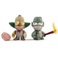 Kidrobot Simpsons Treehouse of Horror Krusty the Clown Mini Figure
