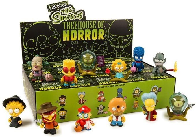 Kidrobot Simpsons Treehouse of Horror Mini Figures