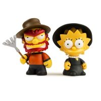 Kidrobot Simpsons Willie Lisa Treehouse of Horror Mini Figures