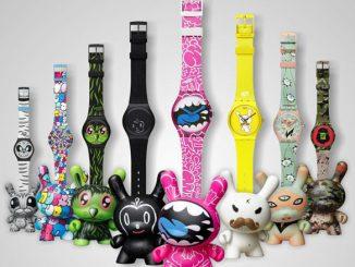 Kidrobot Swatch Watches