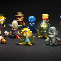 Kidrobot The Simpsons Treehouse of Horror Mini Figures