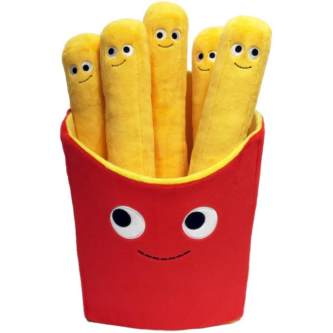 Kidrobot Yummy World Large Fries Plush
