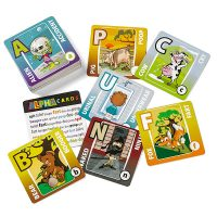 Kids Humor Alphabet Matching Card Game