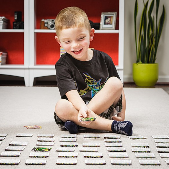 Kids Humor Alphabet Matching Card Game