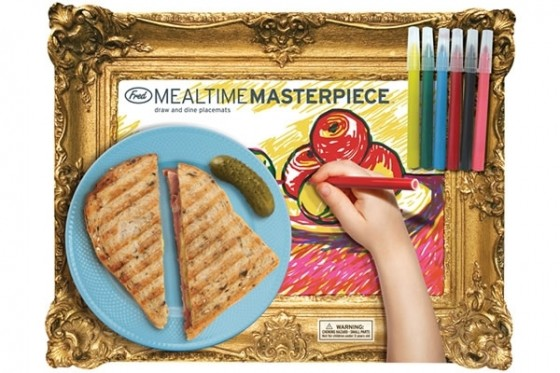 Kids Mealtime Masterpiece Placemats