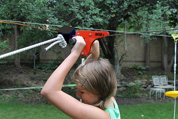 Kids' Zipline Outdoor Fun Toy