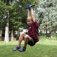 Kids Zipline Outdoor fun
