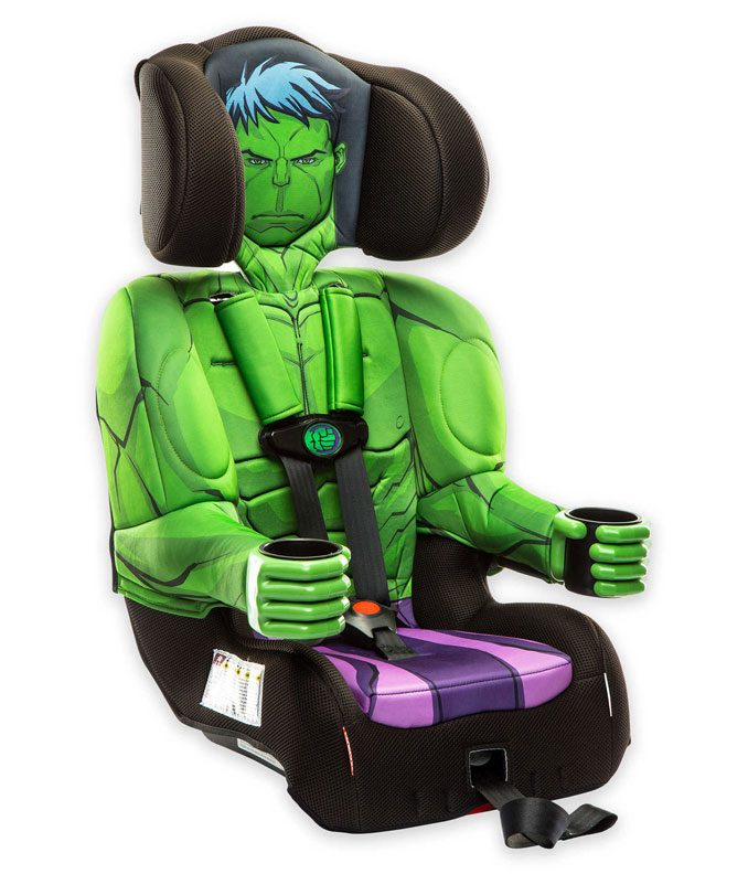 KidsEmbrace Marvel Hulk Combination Booster Car Seat