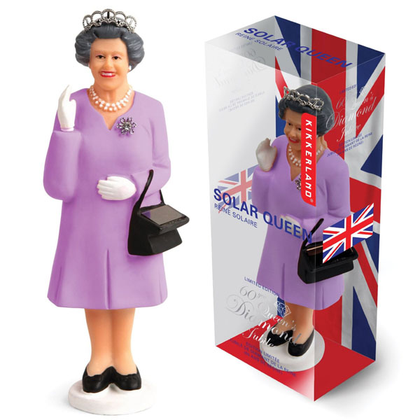 Kikkerland Jubilee Commemorative Limited Edition Solar Queen