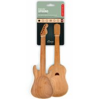 Kikkerland Rockin Wooden Spoons