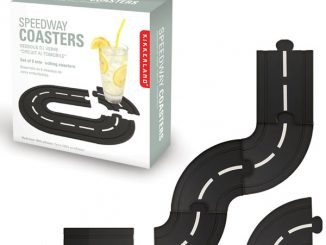 Kikkerland Speedway Coasters