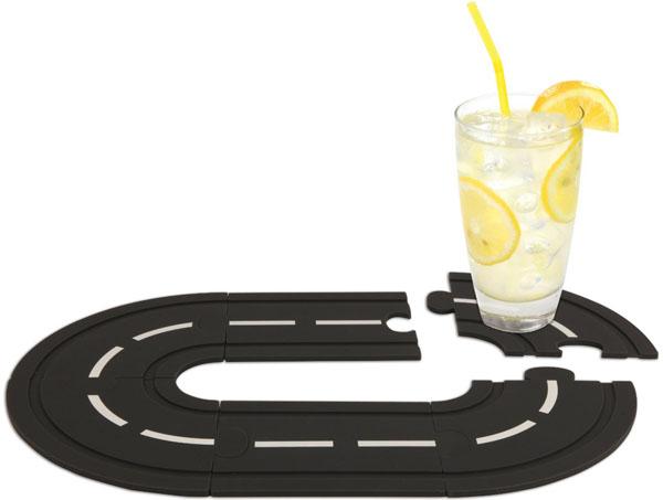 Kikkerland Speedway Interlocking Coasters