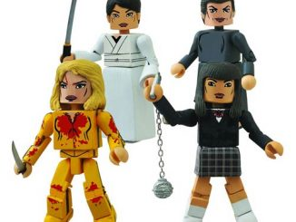 Kill Bill Minimates 10th Anniversary House of Blue Leaves Mini-Figure Box Set