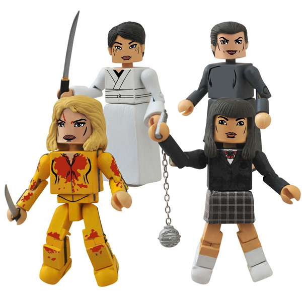 Kill Bill Minimates Box Set