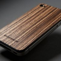 Killspencer West-African Zebrawood iPhone Veil