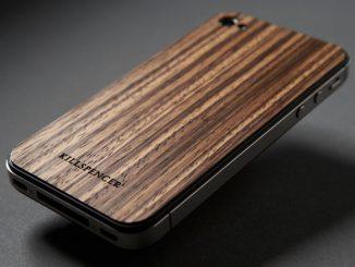 Killspencer West-African Zebrawood iPhone Veil