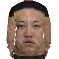 Kim Jong Un Sweatshirt Back