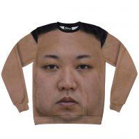 Kim Jong Un Sweatshirt Front