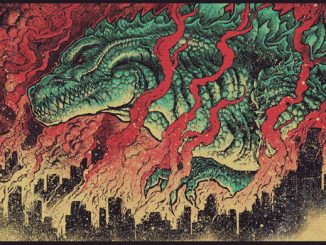 King of Monsters Limited Edition Art Poster