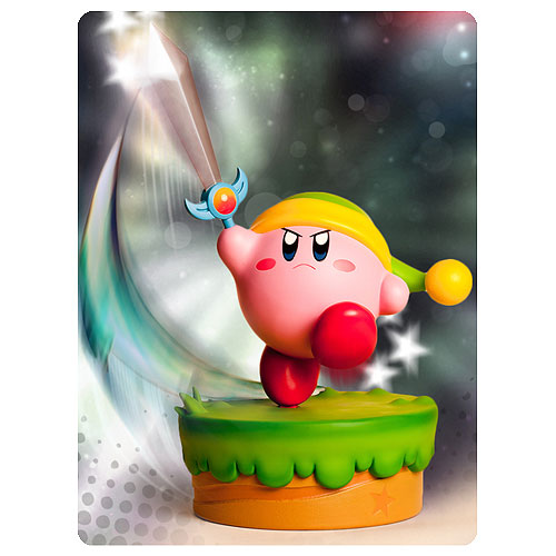Kirby's Adventure Kirby Sword 16-Inch Statue