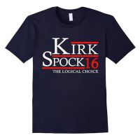Kirk Spock The Logical Choice President 2016 T-Shirt