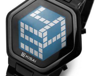 Kisai 3D Unlimited LCD Watch