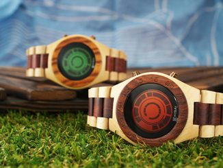 Kisai Rogue SR2 Wood Watch