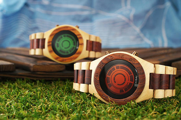 Kisai Rogue SR2 Wood Watch