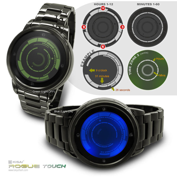 Kisai Rogue Touch Screen Watch
