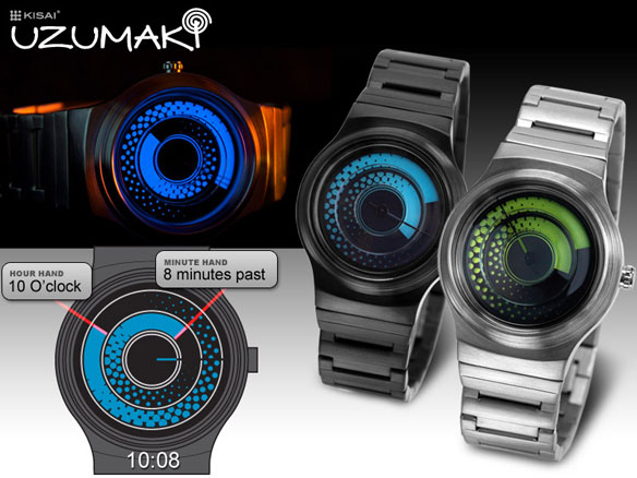 Kisai Uzumaki Watch