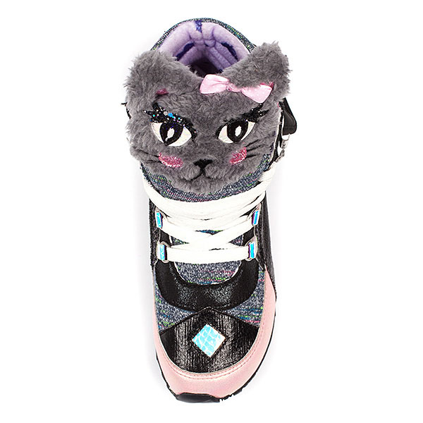 Kitty Cat Leather Sneakers