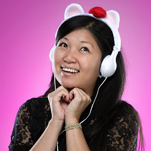 Kitty Plush Headphones