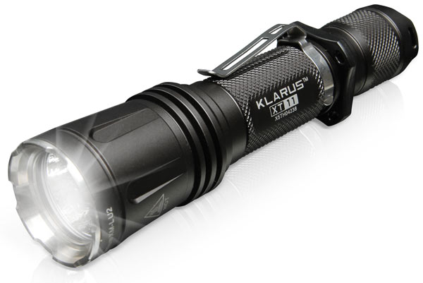 Klarus XT11 600 Lumen Tactical LED Flashlight