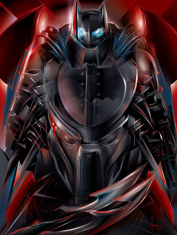 Knight Hunt_Predator_darkknight_vector_Orlando Arocena_2015